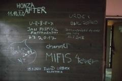 Autogramy některých urbexerů