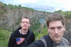 Selfie nad Lomem