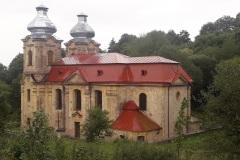 barokní poutní kostel Navštívení Panny Marie